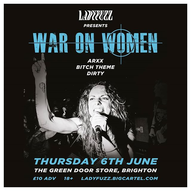 Tonight in Brighton! £11 on the door and tickets on sale via dice until 6pm. First band on at 710, get down early! 💟