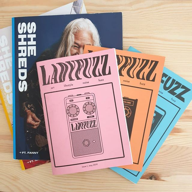 Plenty of wonderful things to read in the store at the moment. Down to our last copies of issue 5 and 6, and the last few issues of @sheshredsmag 16 and 17. Pick up your copies today. Link in our bio! 🤘