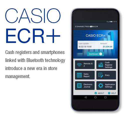 Casio ECR + App