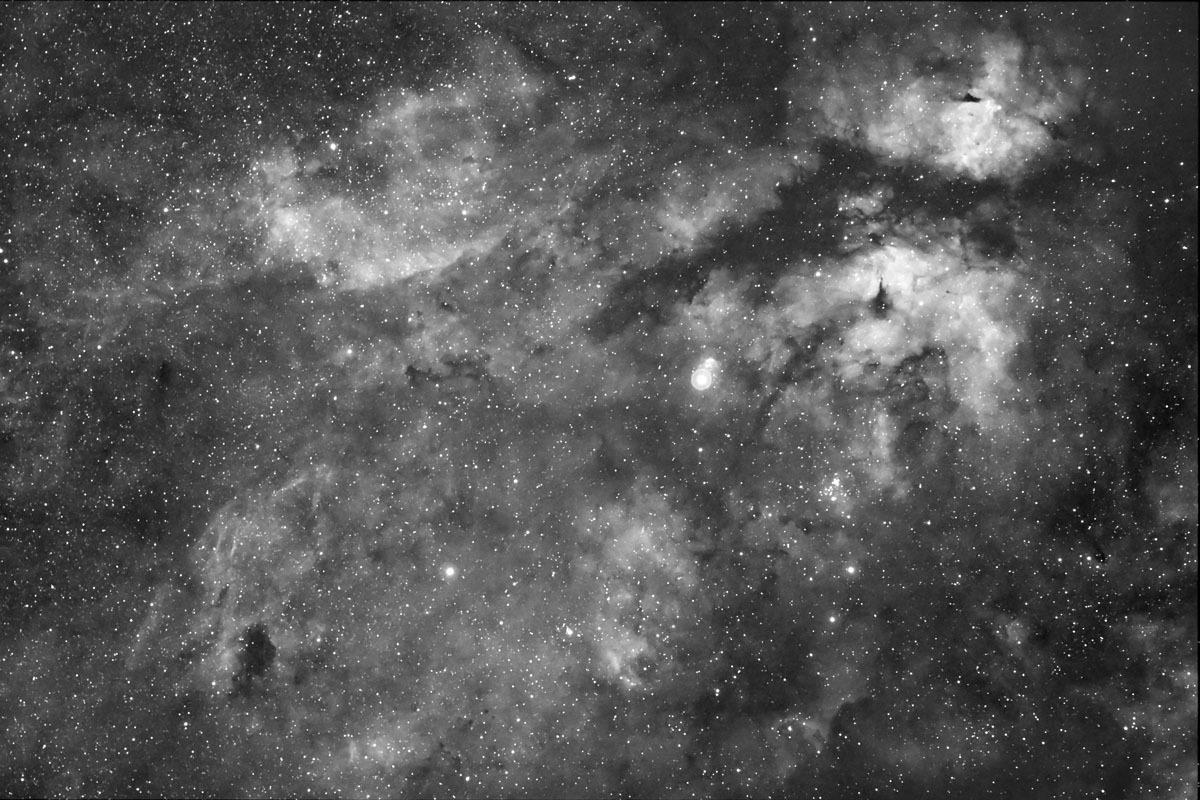 Gamma Cygnus or Sadr Nebulosity