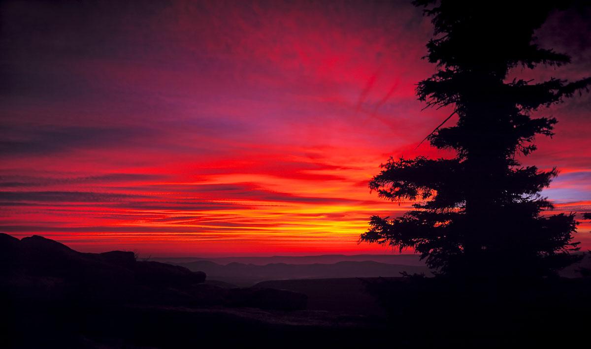 Bear Rocks Sunrise, Dolly Sods Wilderness Area, WV