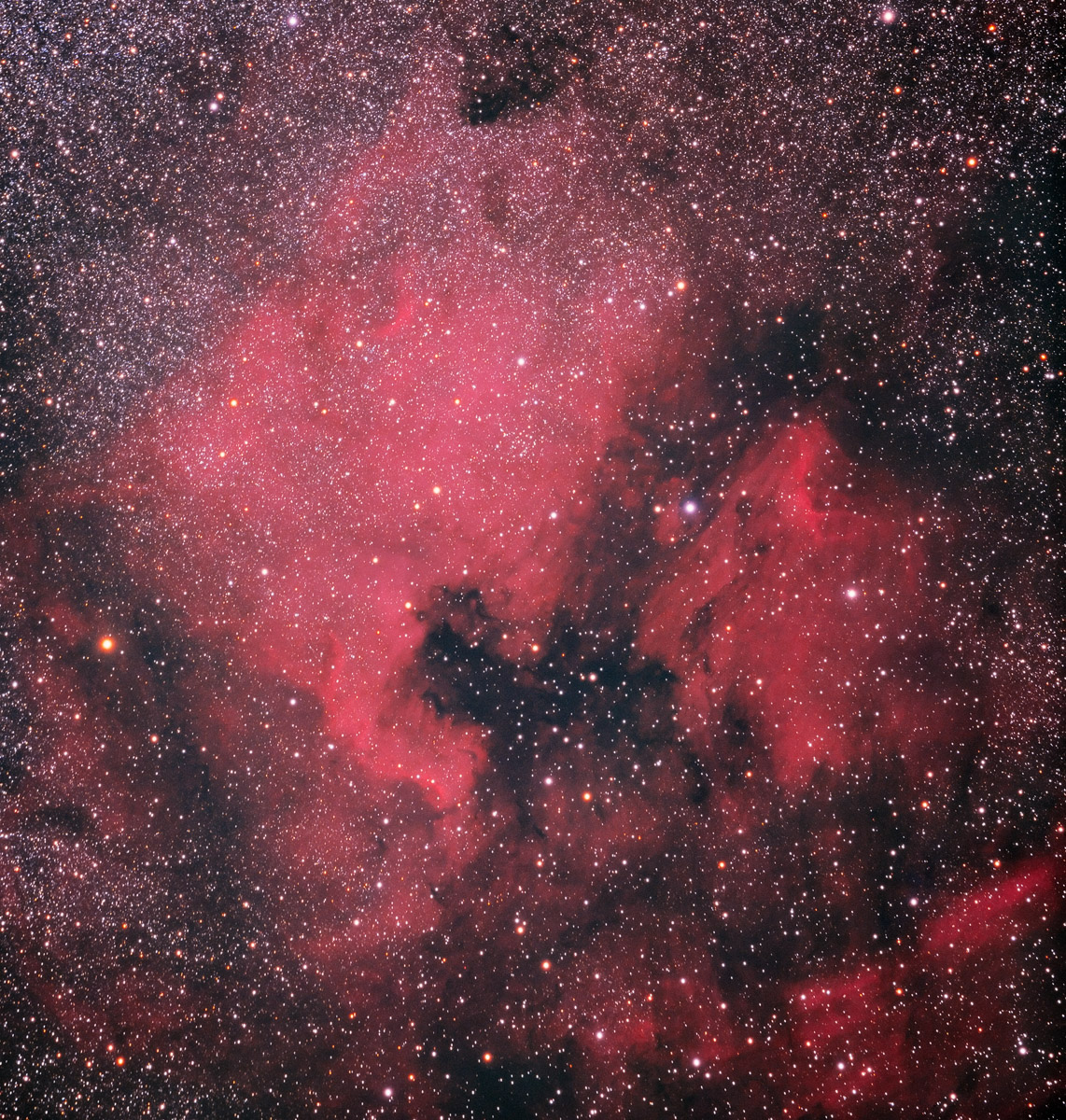 NGC 7000 with Kodak E200 Film