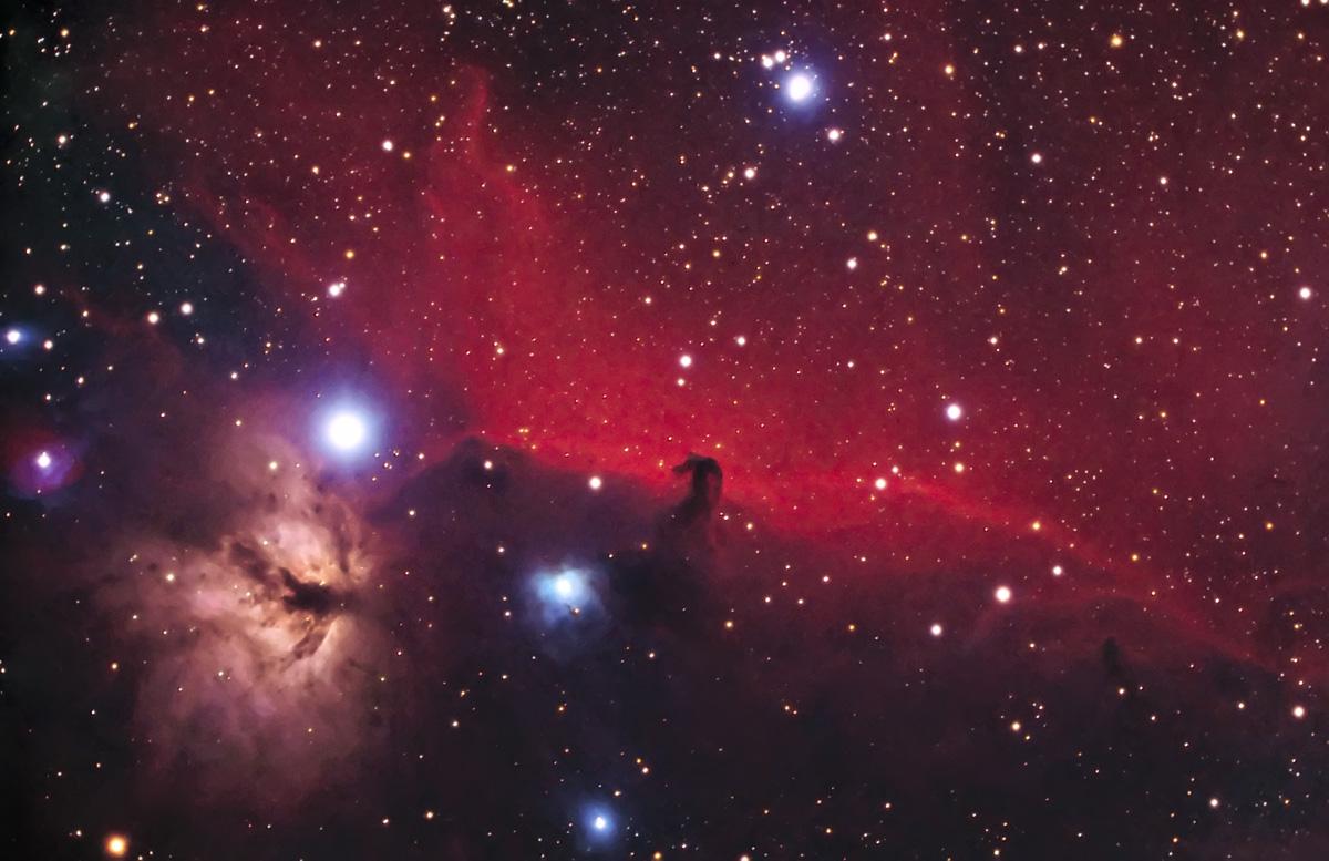 Horsehead Nebula on Kodak E200
