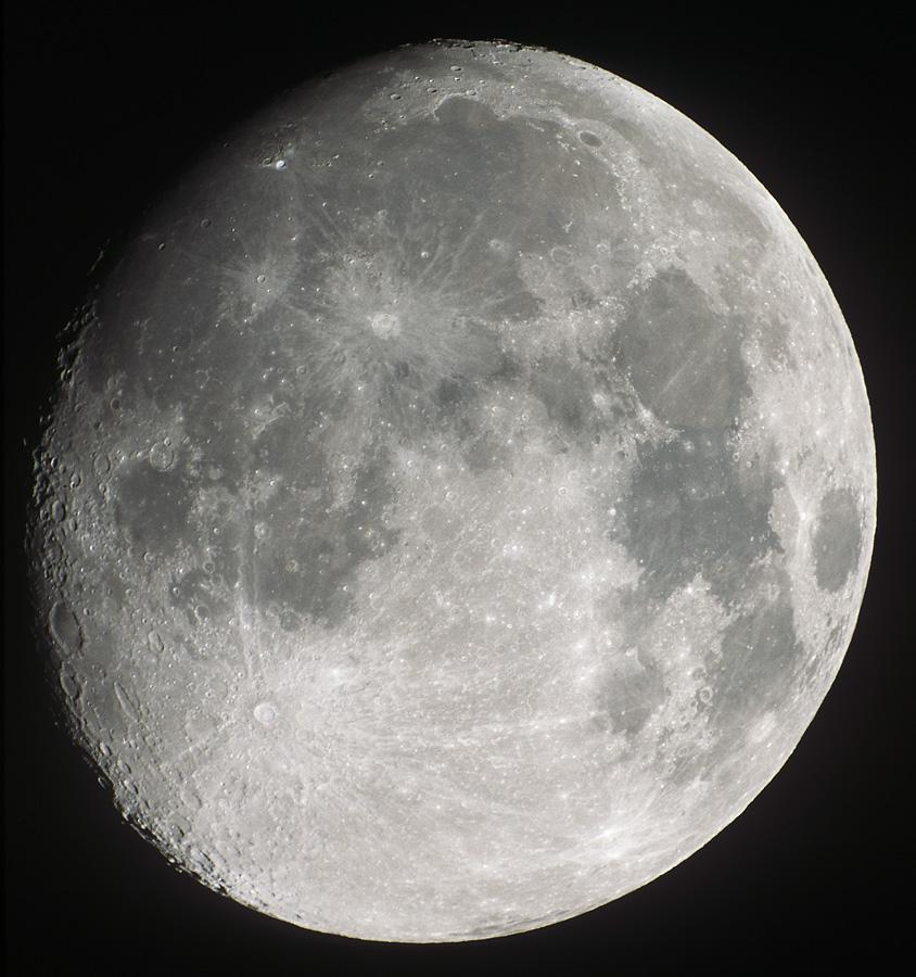 Moon on Fuji Provia Transparency