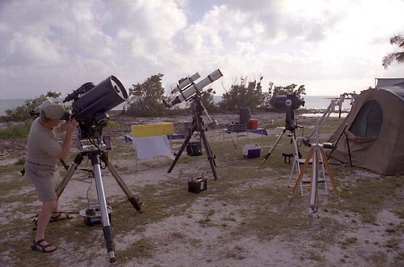 George Whitney with Scopes at WSP 2001