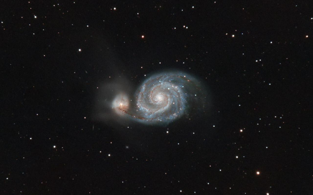M51-Whirlpool Galaxy