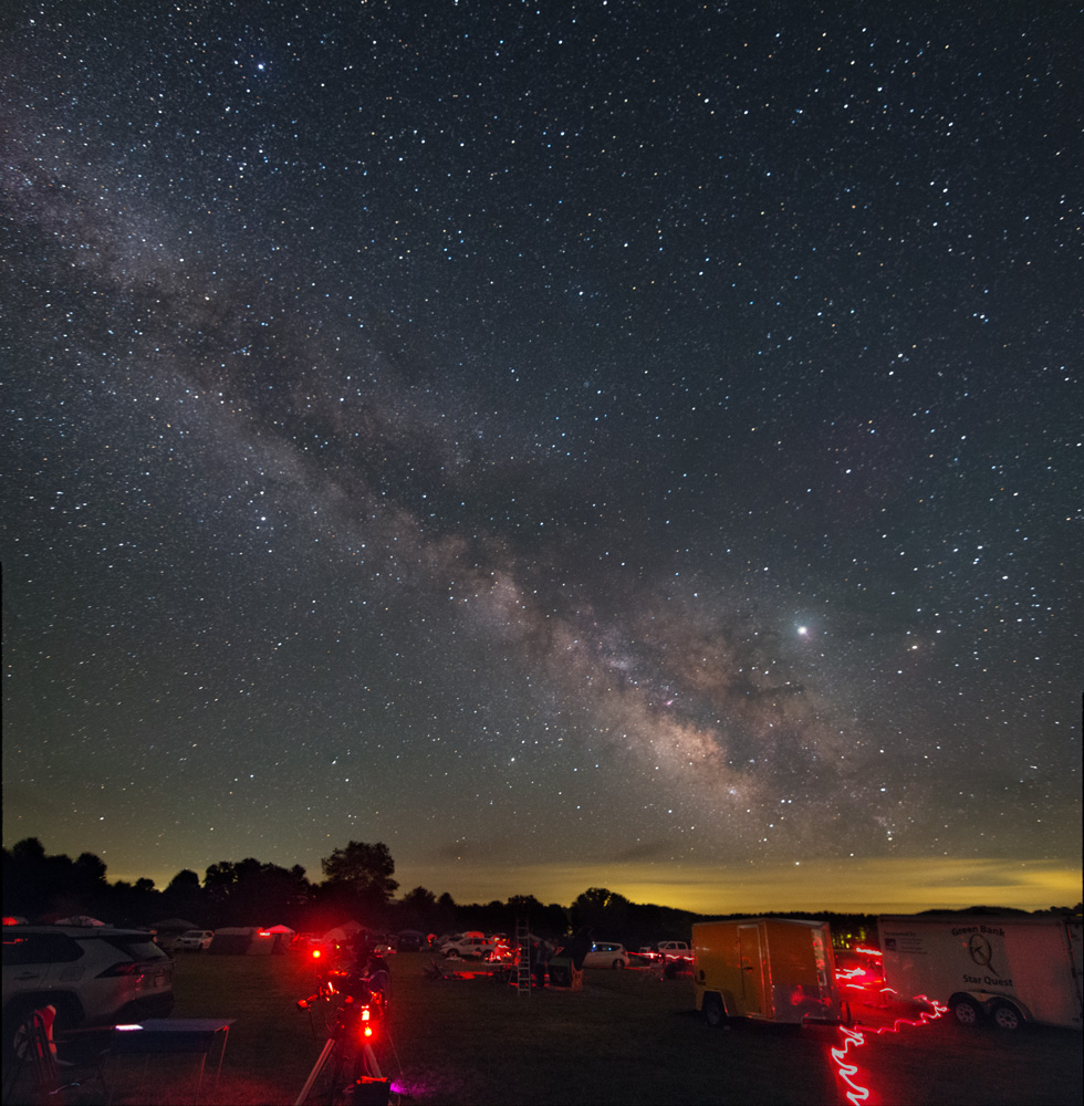 Green Bank Star Quest Milky Way Field 2019