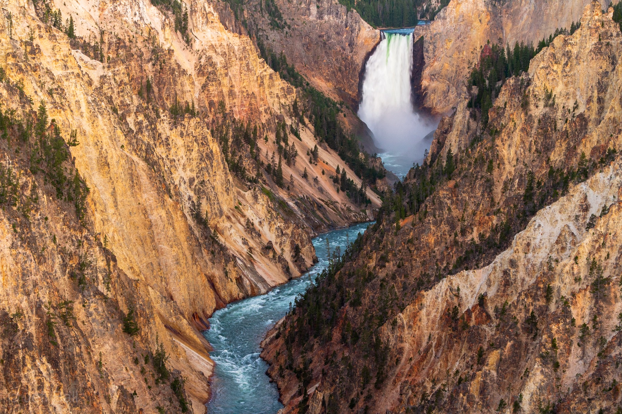 Lower Falls of Yellowstone 2