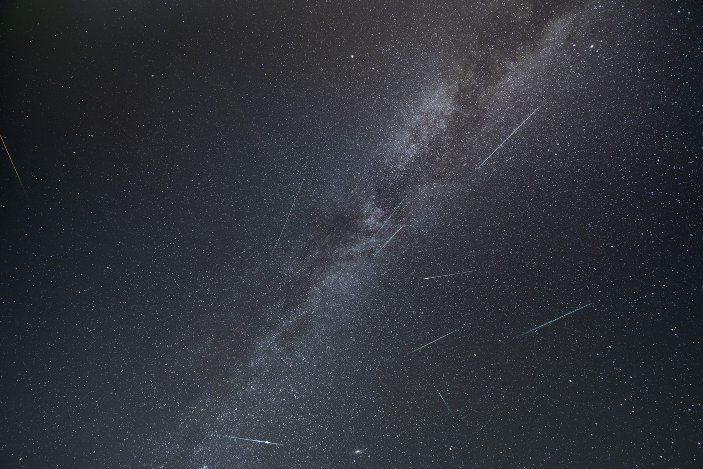 Perseid Meteors 2019 from Beech Fork State Park, WV