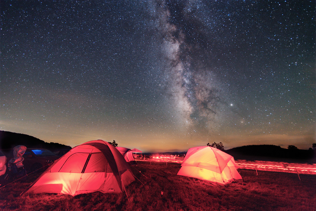 AHSP (Almost Heaven Star Party) and Milky Way 2019