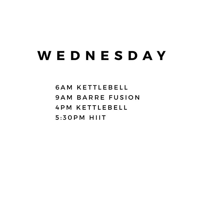 Tomorrow's schedule ✌🏻 #flowspace #kettlebell #barre #yoga #hiit #fitness #blufftonsc #hhi #hiltonhead #oldtownbluffton