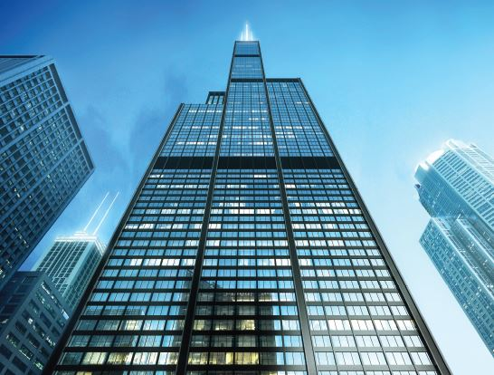 Willis Tower (formally Sear's tower)