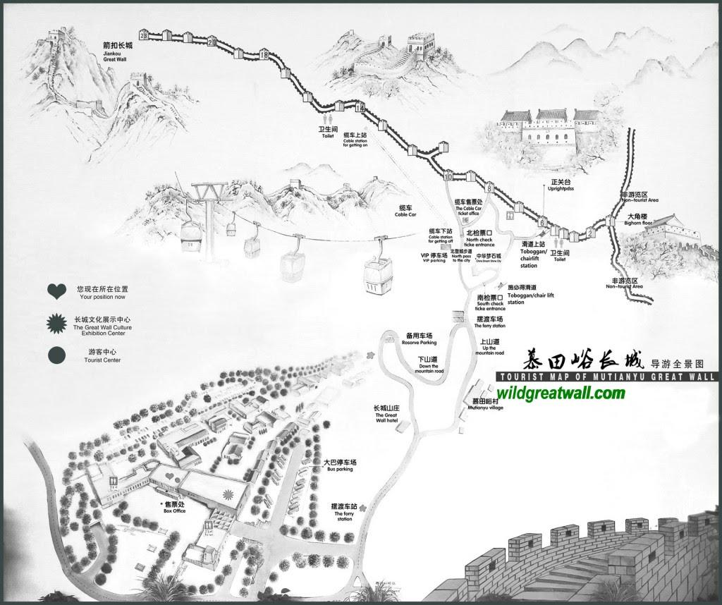 Map Of Mutianyu