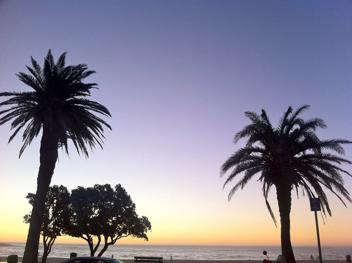 Sun downers in Camps Bay.