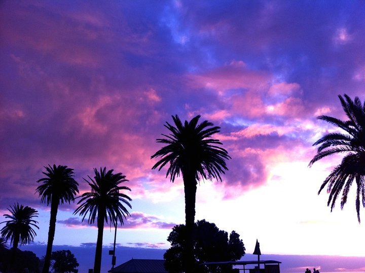 Sunset in Camps Bay (i'd like to add there are no filters ) Its naturally that beautiful!