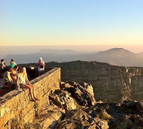 Sitting on top of the world…Well table Mountain!