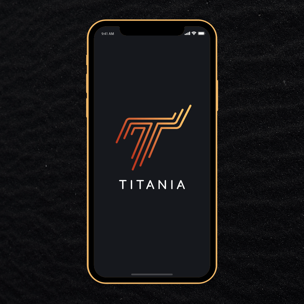 TITANIA - Logo & Digital Experience  Fictional Commercial Passenger Space Shuttle