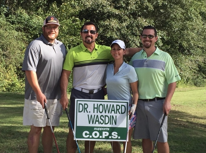 Howard honors law enforcement by sponsoring the Wilbur Berry Memorial Golf Tournament