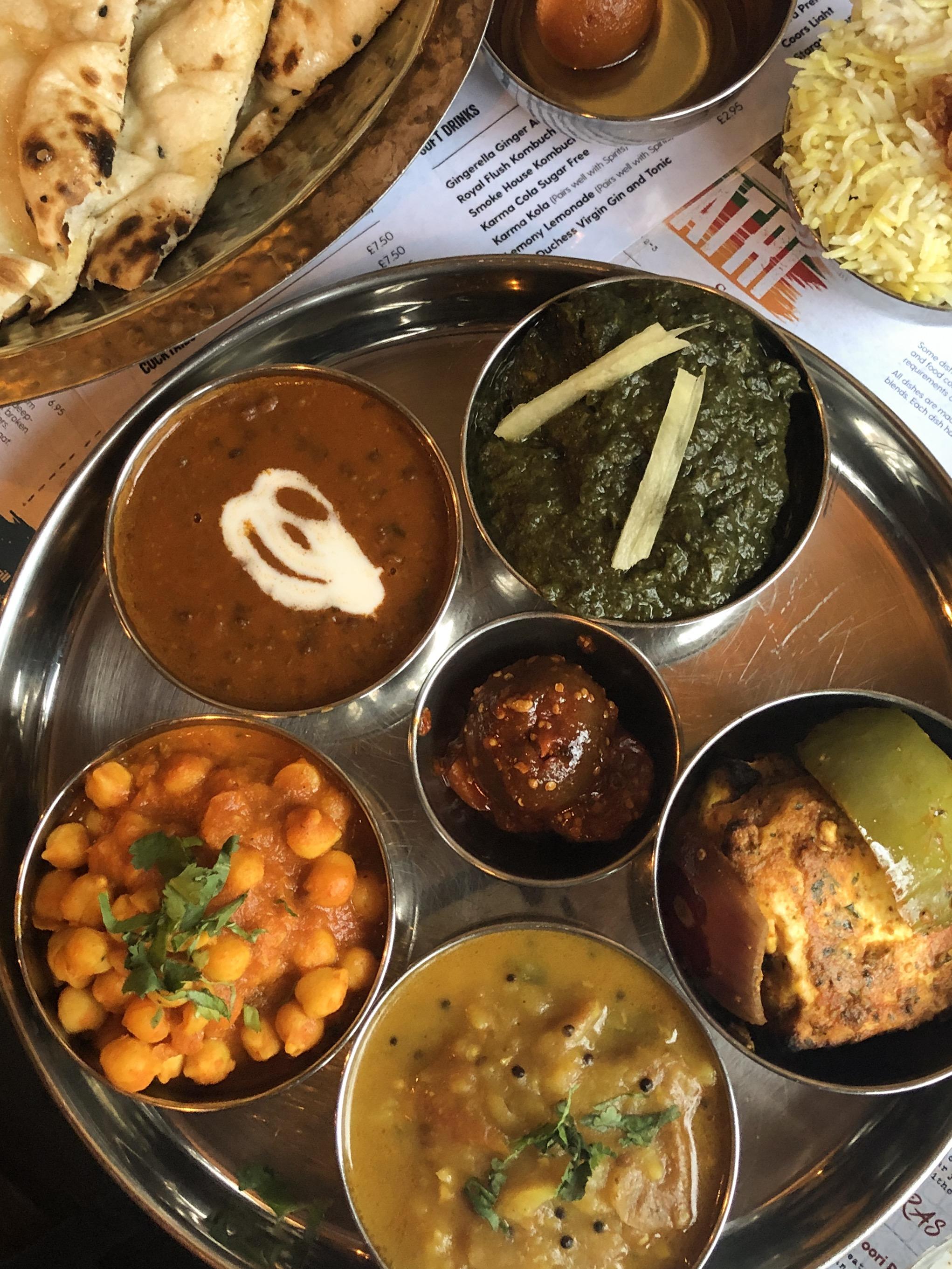 Patri Vegetarian Thali