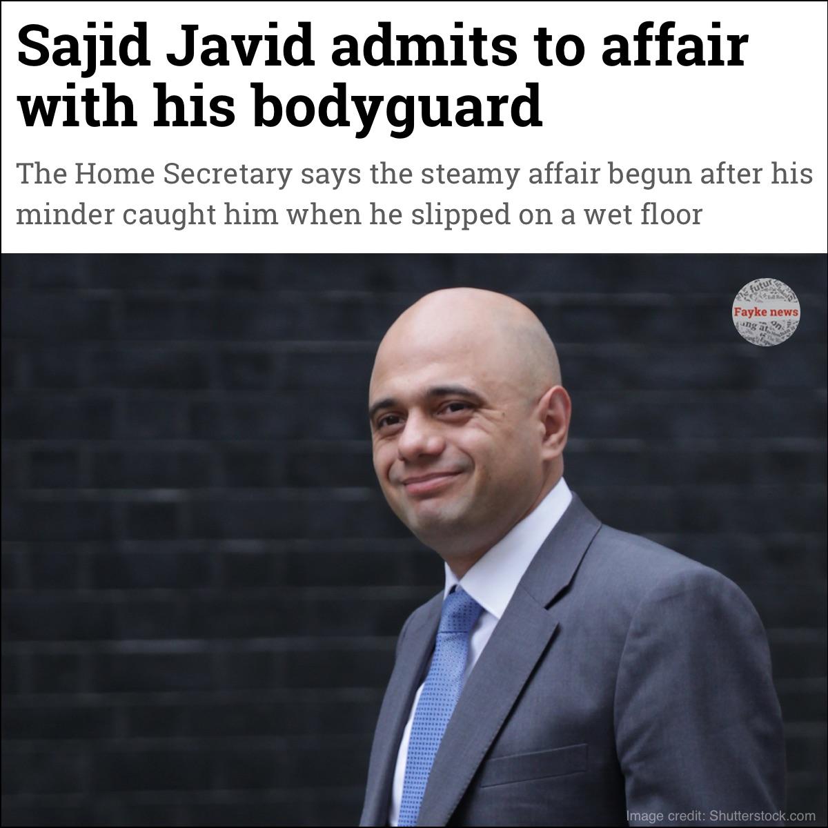 Sajid Javid Fakew News Satire Meme Fayke News