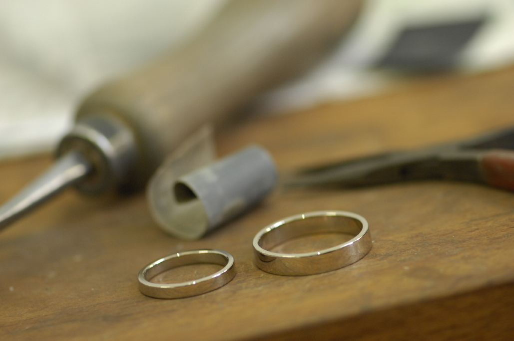 Step 12:  The finished rings