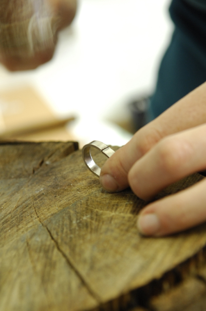 Step 3:  Forming the ring