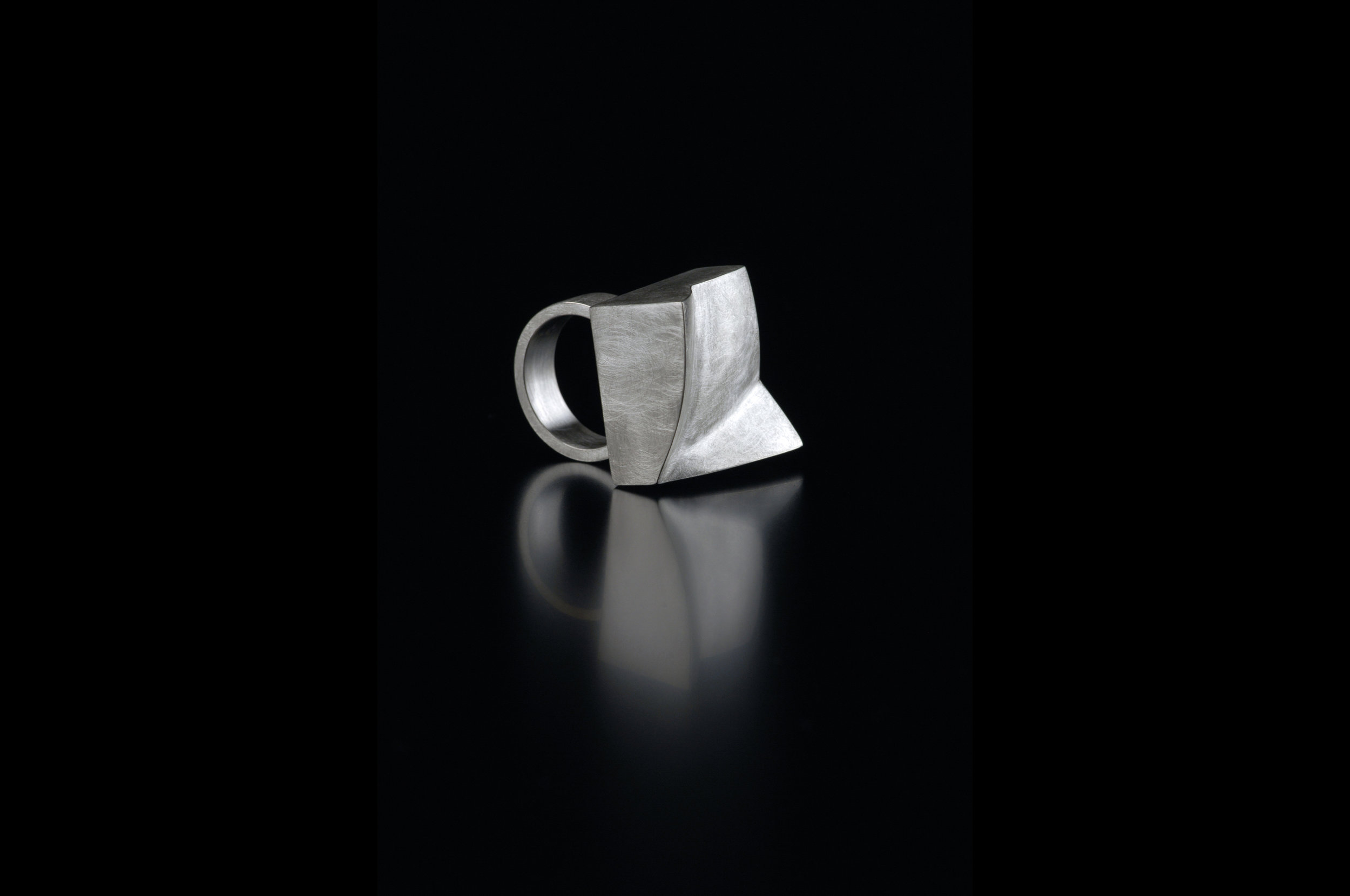 Square 'Folds' Ring