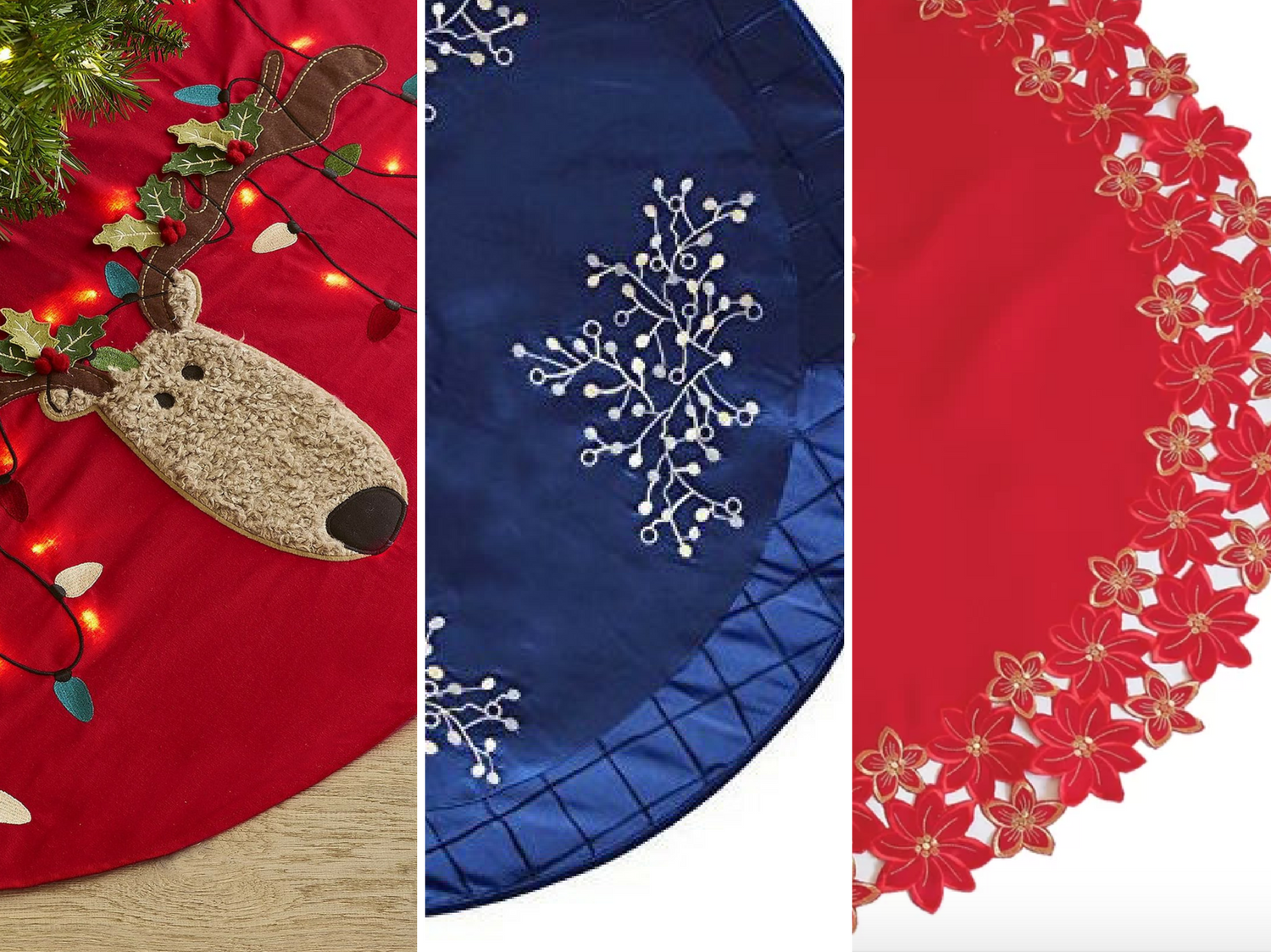 21 Beautiful Christmas Tree Skirts for Every Home and Decor Style
