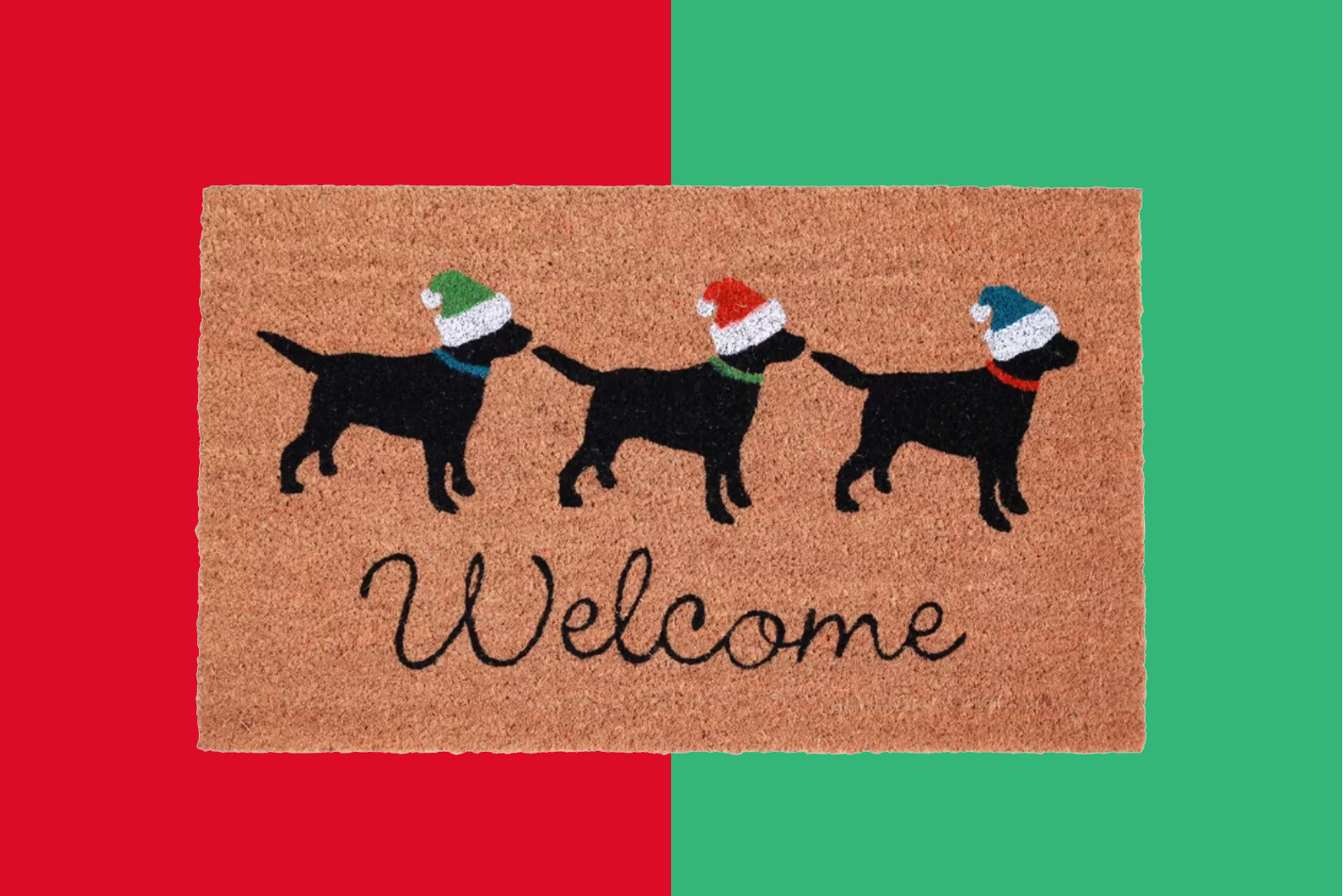 18 Best Outdoor Christmas Doormats For a Warm Holiday Welcome