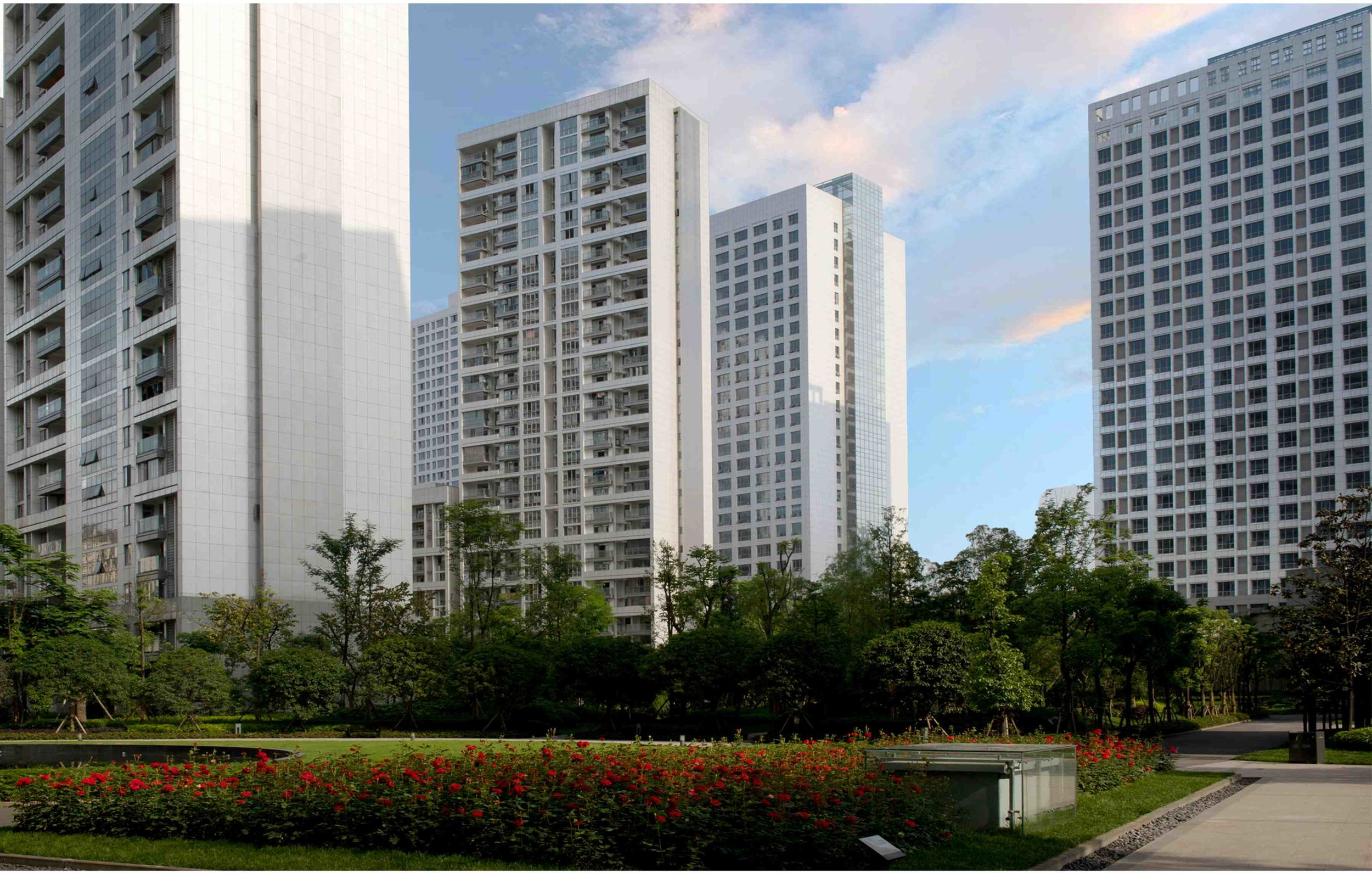 I-city Residential Buildings