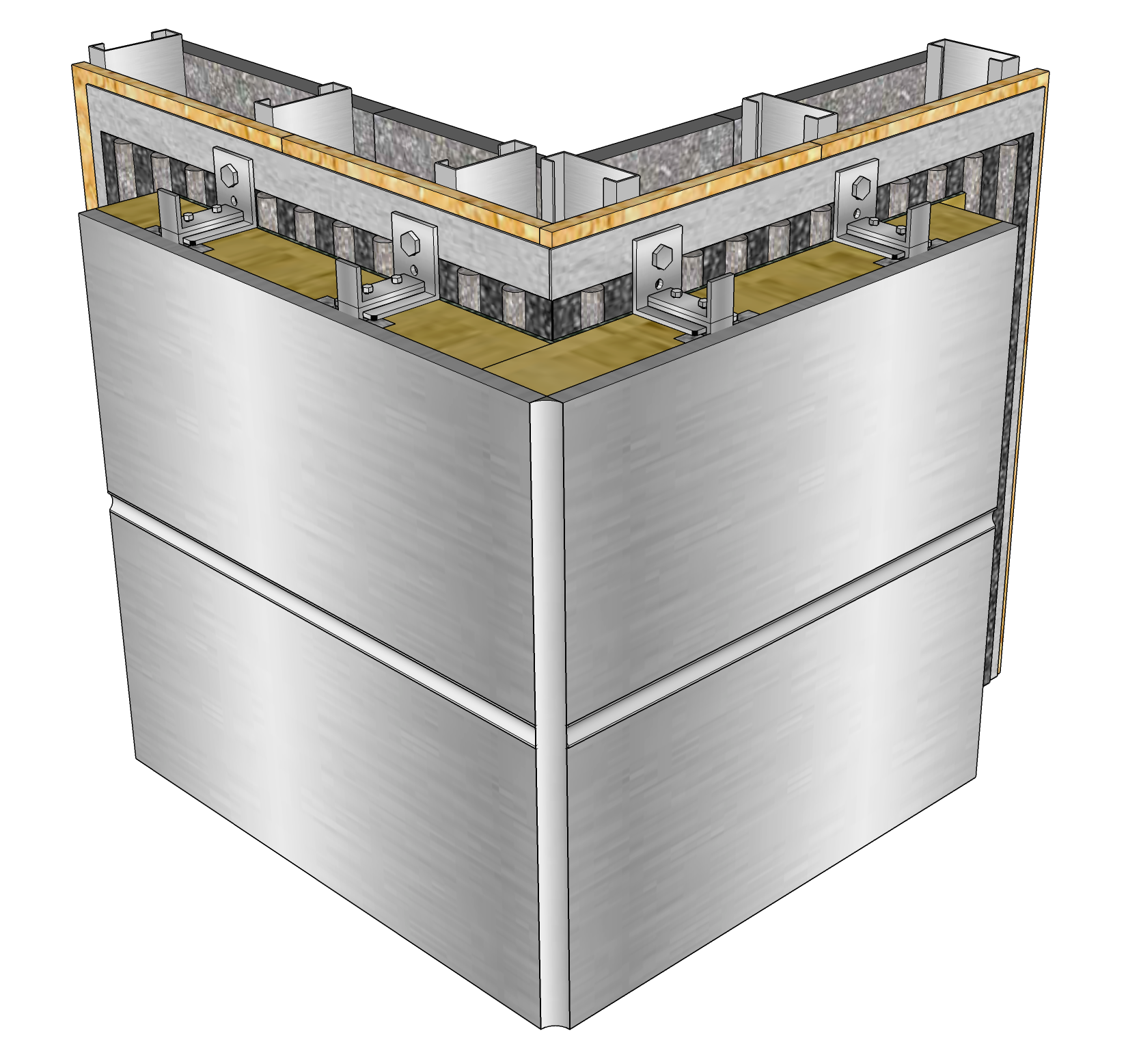 Thermal Panoply™ Outer Corner Joint