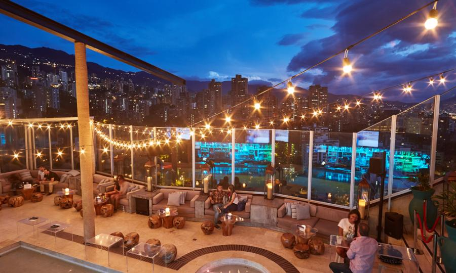 The Charlee Lifestyle's Envy Rooftop bar, Image courtesy of the Charlee
