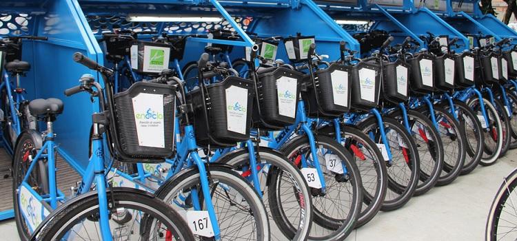 Encicla bikeshare station