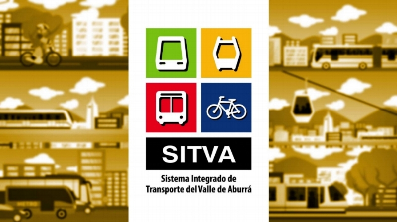 The logo for Intergrated Transit System for the Aburra Valley