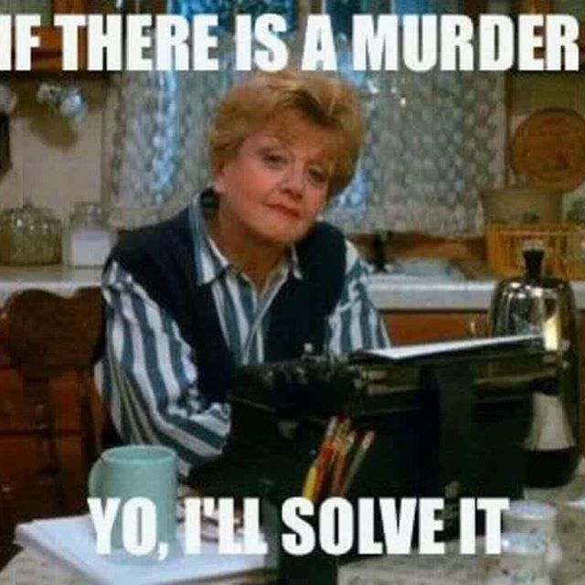 Anyone else got this level of confidence? 😂😂😂 . . . . . #truecrime #mystery #murdermystery #murdershewrote