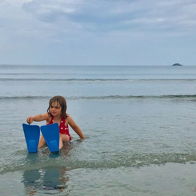 Taking the day off to play with my girl. #mompreneur #summerfun #shortbeachnahant