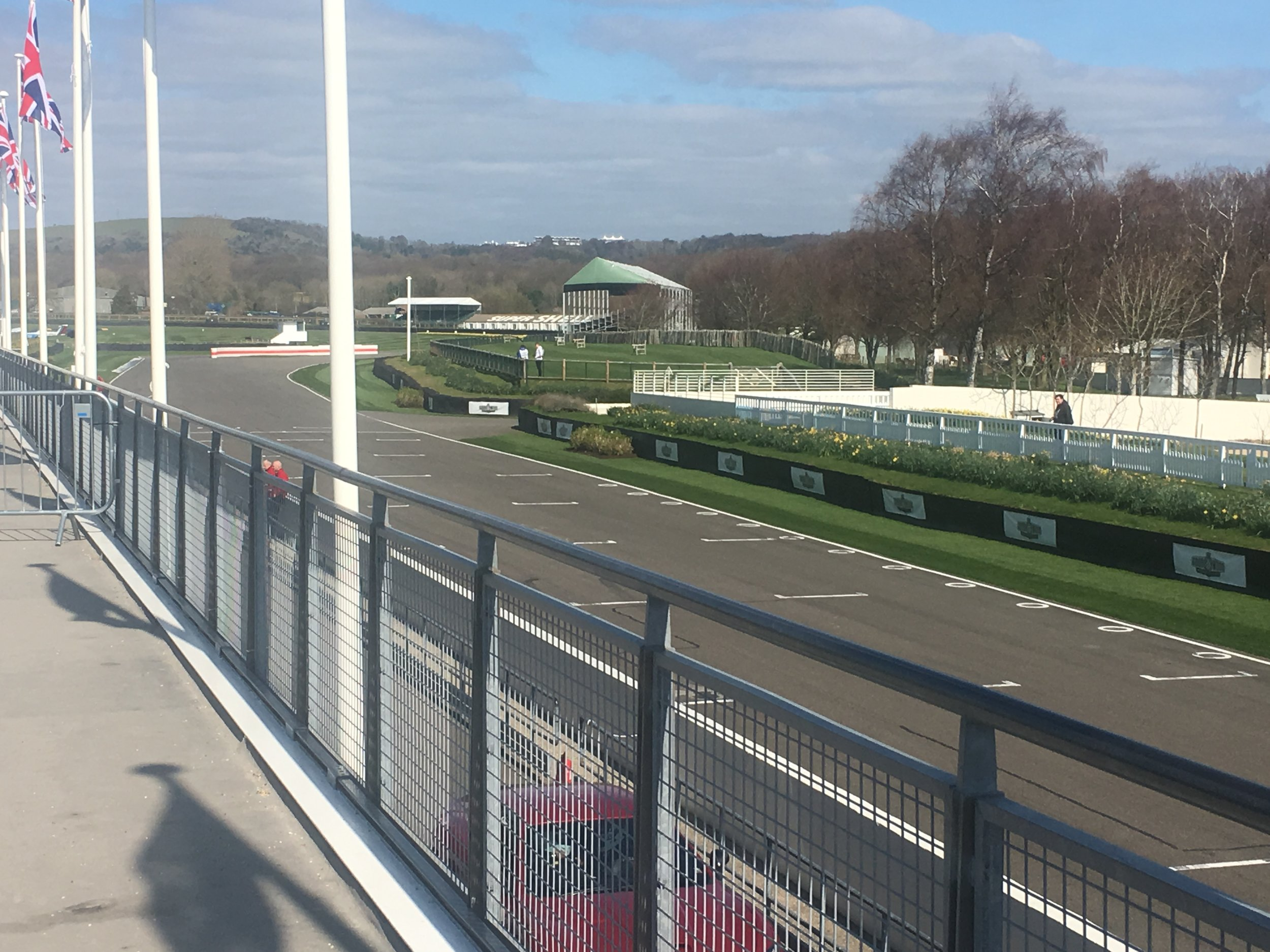 Goodwood in the sunshine