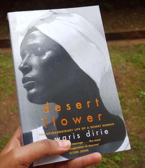 My copy of the Desert Flower