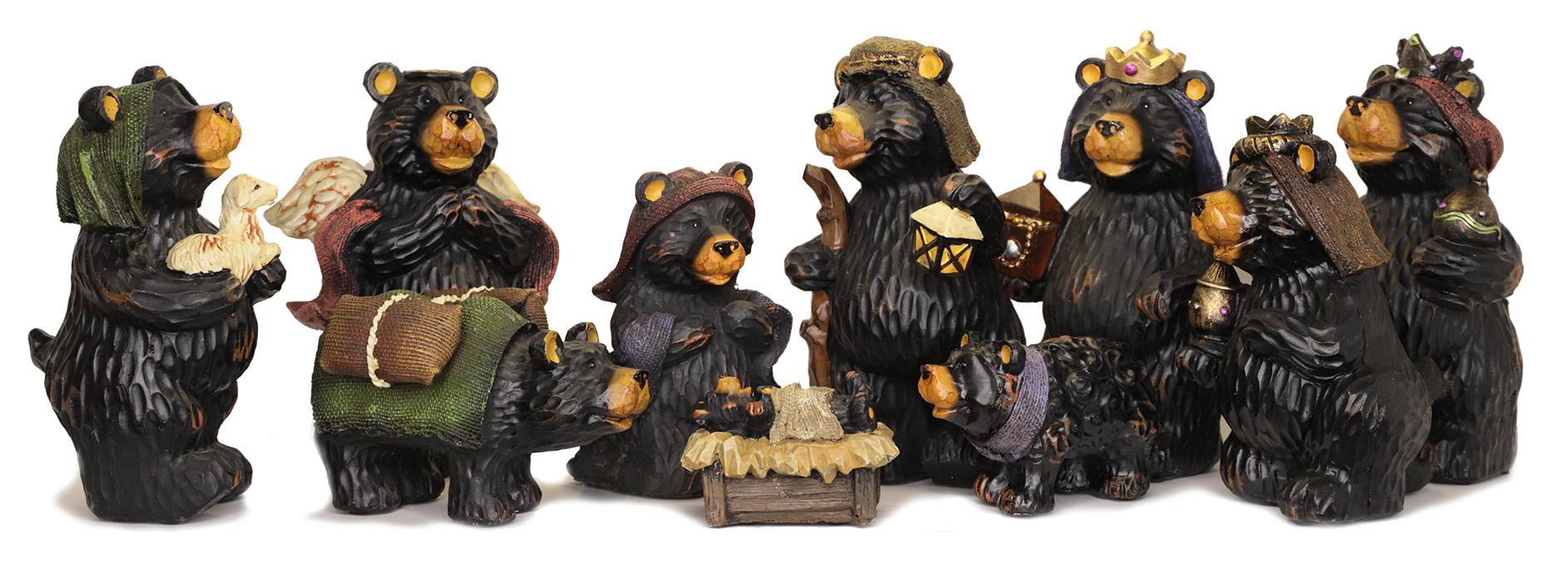 YES , It's a bear nativity scene!