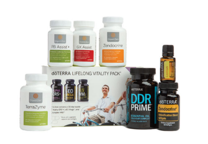 Cleanse & Restore Kit - • doTERRA Lifelong Vitality Pack.• PB Assist®• GX Assist®• Zendocrine® Softgels• DigestZen TerraZyme®• Lemon (15mL)• Zendocrine® Complex• DDR Prime® Softgels• doTERRA Essentials Booklet€292.35 / ~ Save €61.90