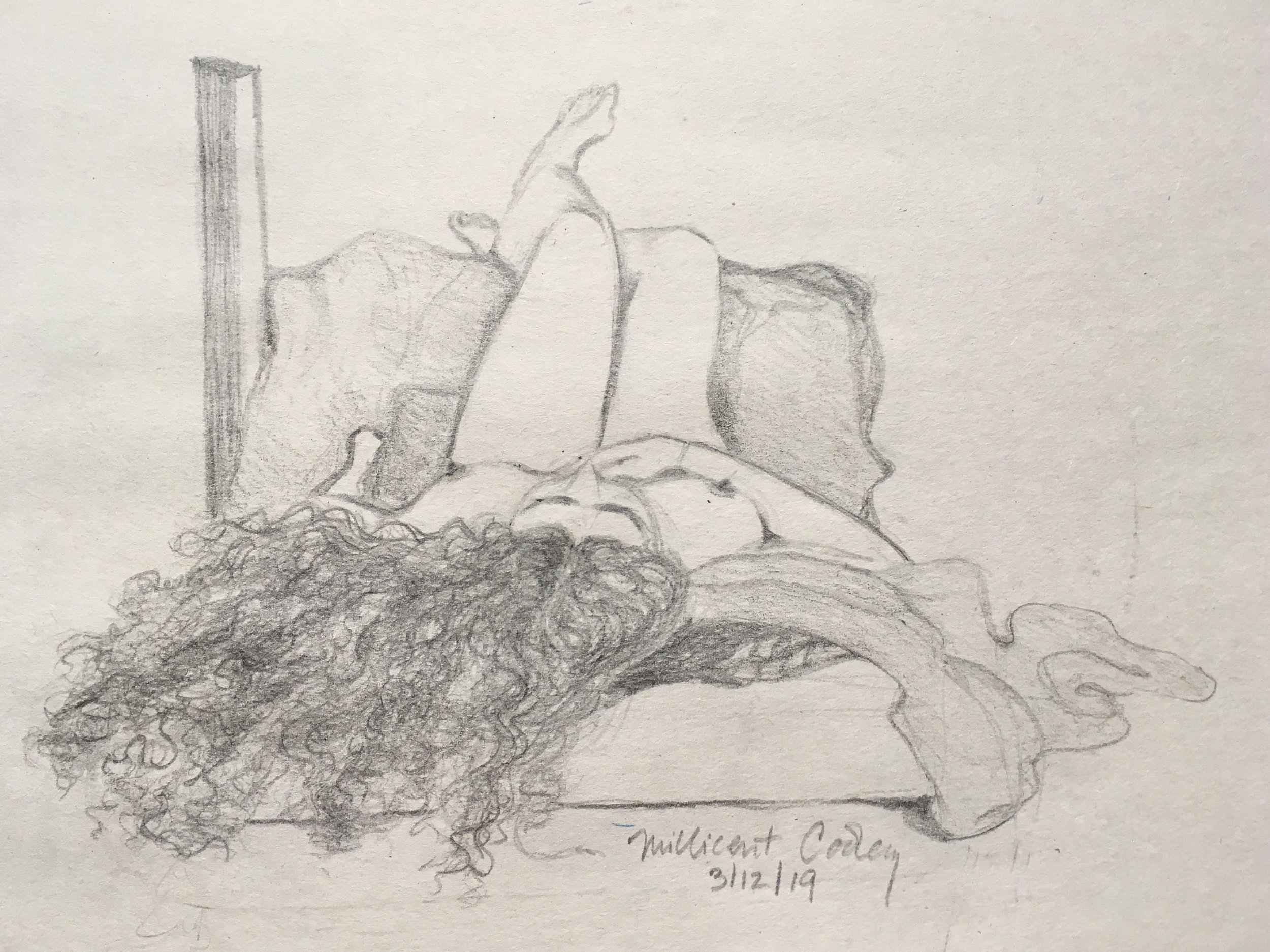 Life drawing class, March 2019
