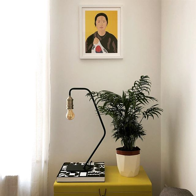 The brightest spot for the bravest of girls. . We love yellow to brighten up a space. And we love even more the story of extraordinary and unrelenting determination behind this portrait of Yu Gwan-Sun, the Korean girl who sacrificed her life for her country and became a symbol of fight for Korean independence. . . #thehouseofmischief #thom #homestyling #homedecor #wallartdecor #wallartprint #gallerywall #gallerywallinspo #yellow #yellowcorner #decoratewithart #beinspired #womencan #strongwomen #keepgoing #bedetermined #fightforyourrights #fightforyourdreams