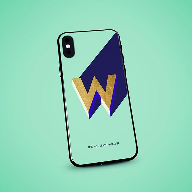 W is for.... Happy Wednesday everyone! #wednesday #humpday #humpdayvibes #phonecases #phonecase #phonecasedesign #letterW #Wisfor #thehouseofmischief #thom #balham #sw12 #southlondon