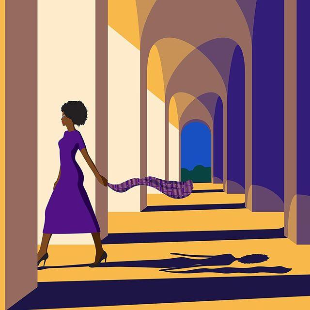 Detail from new illustration... Art print available soon. . #illustration #graphicillustration #minimalillustration #wallart #thehouseofmischief #thom #londonartist #balham #sw12