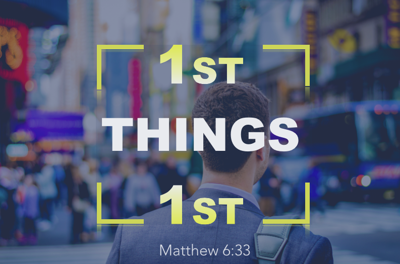 First Things First Part 1 - How do you have a truly satisfying life? A life worth living? A life we shall be glad we lived, when we come to the end of it? What has to happen to finally satisfy our soul? In Matthew 6, Jesus tells us what we must do first in order to find true satisfaction.