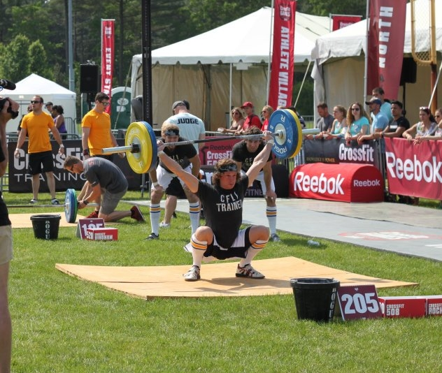#TBT to when Coach Pat hit a snatch PR at the 2012 CrossFit Regionals!