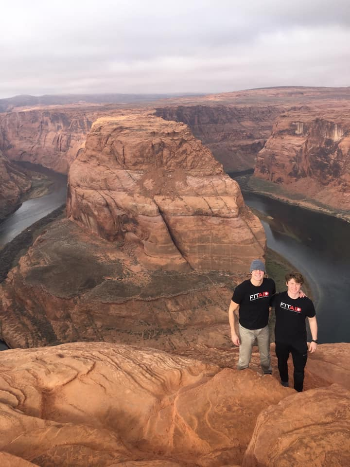 Check out Coach Esek and member Aldas while on their amazing trip to the Grand Canyon!