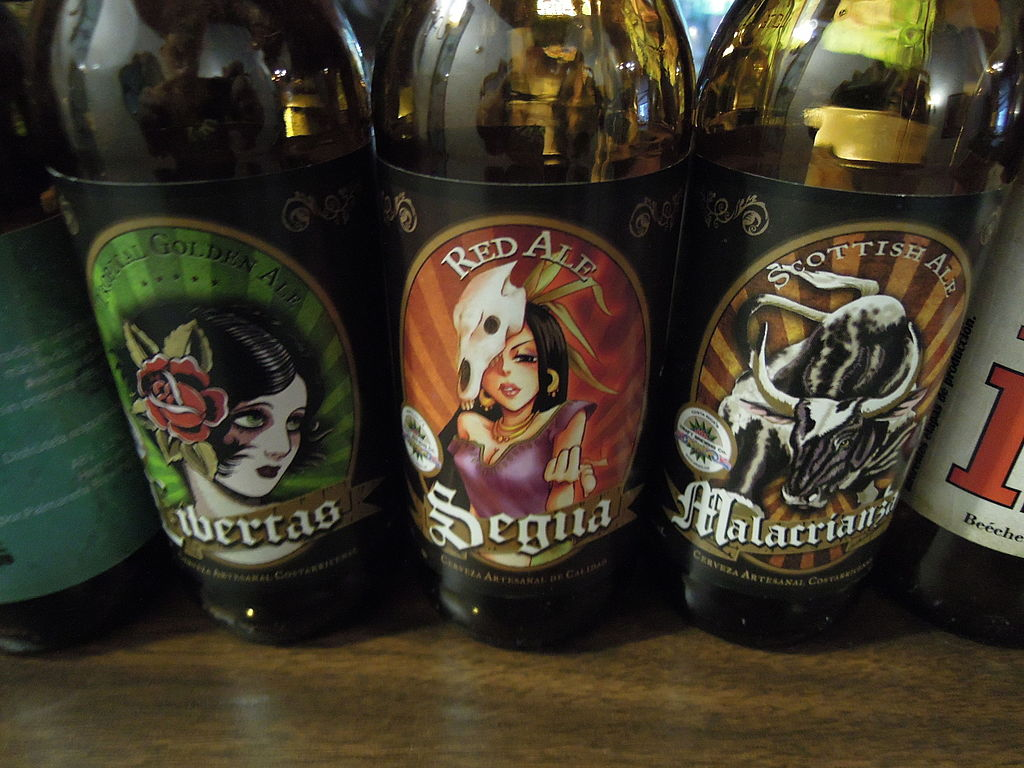 The craft beer scene in Costa Rica has exploded since 2010.  Photo: Rquesada [CC BY-SA 4.0 (https://creativecommons.org/licenses/by-sa/4.0)], via Wikimedia Commons
