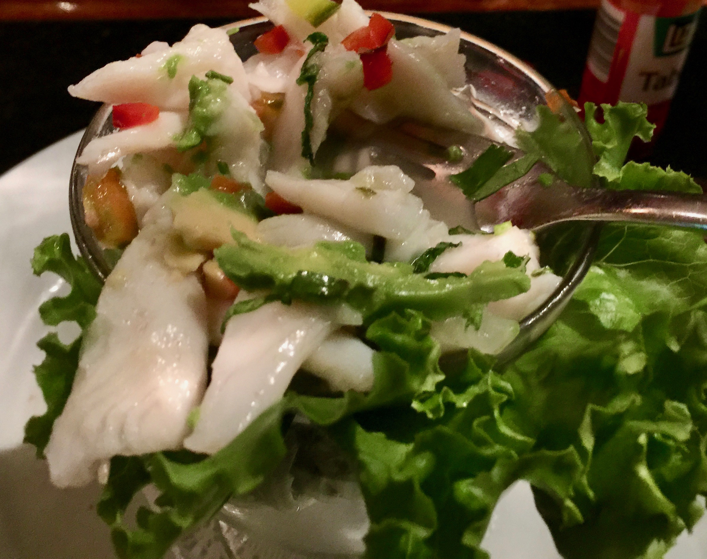 Ceviche is good on the Caribbean Coast - You can get fresh and delicious ceviche in Puerto Viejo and Cahuita.