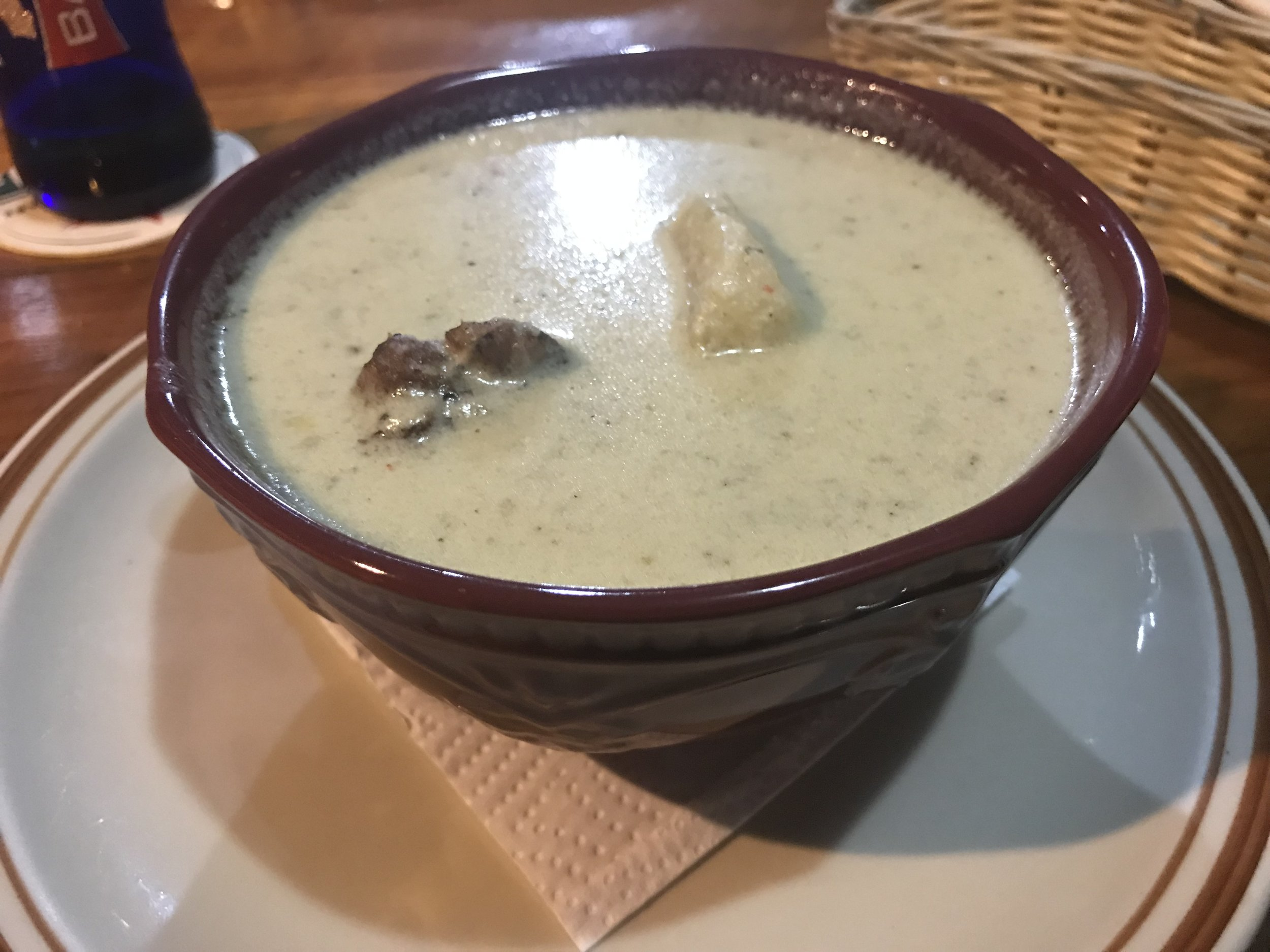 A bowl of rondón that the author demolished in Puerto Viejo, Limon, Costa Rica.